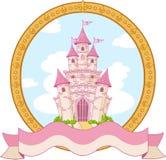 Diseño del castillo de la princesa Imagen de archivo