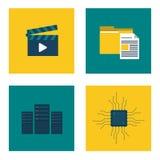 Diseño del centro de datos Foto de archivo libre de regalías