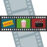 Diseño del cine Fotos de archivo