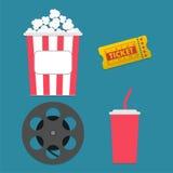 Diseño del cine Fotografía de archivo libre de regalías