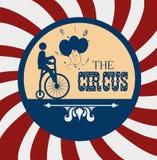 Diseño del circo Fotos de archivo