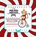 Diseño del circo Imagen de archivo