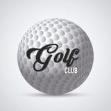 Diseño del club de golf Fotos de archivo