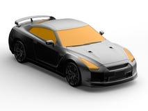 Diseño del coche 3D del concepto ilustración del vector