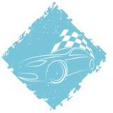 Diseño del coche de deportes Imágenes de archivo libres de regalías