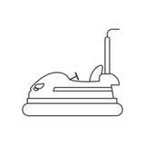 diseño del coche de parachoques stock de ilustración