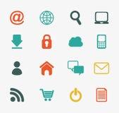 Diseño del comercio electrónico Imagenes de archivo