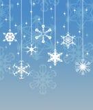 Diseño del copo de nieve Imágenes de archivo libres de regalías