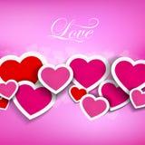 Diseño del corazón Foto de archivo