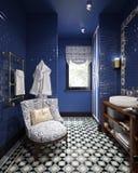 Diseño del cuarto de baño Imágenes de archivo libres de regalías