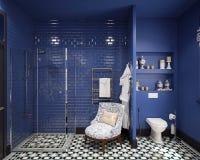 Diseño del cuarto de baño Foto de archivo