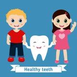 Diseño del cuidado dental Fotografía de archivo