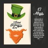 Diseño del día de Patricks del santo libre illustration