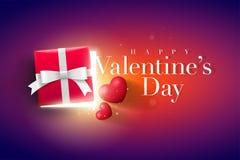 Diseño del día de tarjetas del día de San Valentín Foto de archivo