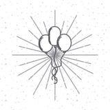 diseño del día del indepence de los E.E.U.U. Imágenes de archivo libres de regalías