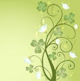 Diseño del día del St. Patrick Foto de archivo