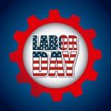 Diseño del Día del Trabajo Imagenes de archivo