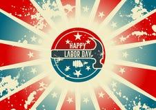 Diseño del Día del Trabajo Imágenes de archivo libres de regalías