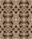 Diseño del damasco Foto de archivo libre de regalías