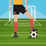 Diseño del deporte Imagen de archivo libre de regalías