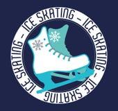 Diseño del deporte de invierno Fotos de archivo