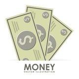 Diseño del dinero ilustración del vector