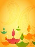 Diseño del diwali de Coloful stock de ilustración