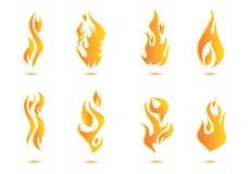 Diseño del ejemplo de la llama stock de ilustración