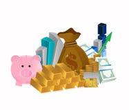 Diseño del ejemplo del concepto del negocio stock de ilustración