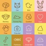 Diseño del esquema del animal doméstico Foto de archivo libre de regalías