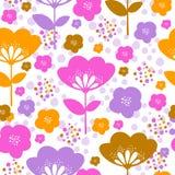 Diseño del estampado de flores Imágenes de archivo libres de regalías