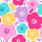 Diseño del estampado de flores imagen de archivo