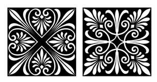 Diseño del estilo de Vicrtorian Fotos de archivo