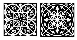 Diseño del estilo de Vicrtorian Imagen de archivo