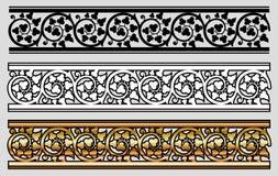 Diseño del estilo de Vicrtorian Fotografía de archivo libre de regalías