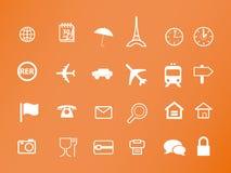 Diseño del estudio de los iconos Imagen de archivo libre de regalías