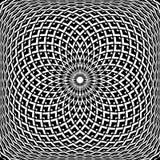 Diseño del extracto del arte de Op. Sys. Modelo convexo geométrico de la rotación libre illustration