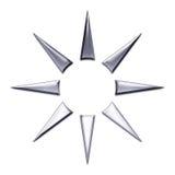 Diseño del extracto de la estrella Fotos de archivo