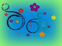 Diseño del extracto del clip art - ejemplo 3D Foto de archivo