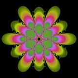 Diseño del extracto del color de rosa y del verde Foto de archivo libre de regalías
