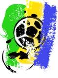 Diseño del fútbol/del fútbol Imagenes de archivo