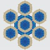 Diseño del Flourish Foto de archivo