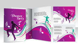 Diseño del folleto stock de ilustración