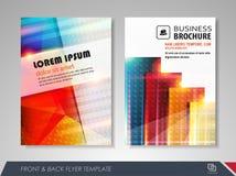 Diseño del folleto Imágenes de archivo libres de regalías