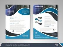 Diseño del folleto Fotos de archivo