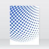 Diseño del folleto del directorio de la plantilla Fotos de archivo