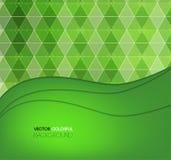 Diseño del fondo, contexto verde abstracto Fotos de archivo