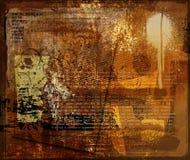 Diseño del fondo de Grunge Imagen de archivo libre de regalías
