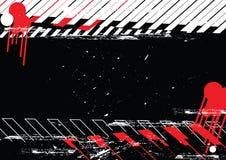 Diseño del fondo de Grunge Foto de archivo