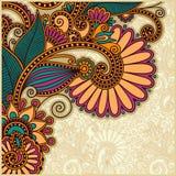 Diseño del fondo de la flor Fotos de archivo